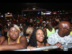 Patrons at Reggae Sumfest 2019.