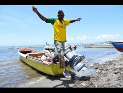 Paul Blackhood, a fishing boat captain from Old Harbour Bay Fishing Beach in St Catherine, was among some 260 fishers who suffered losses after the government imposed a lockdown of the parish in April to contain the spread of COVID-19.