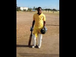 FILE Fabian Allen poses for a picture after a high school match for Vere Technical High School in 2013.