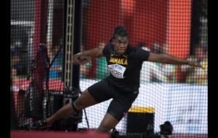 Fedrick Dacres in action in the discus final at the recent IAAF World Championships. The discus will not be among the Diamond League events next year.