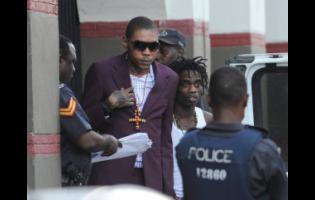 Incarcerated dancehall artiste Vybz Kartel.