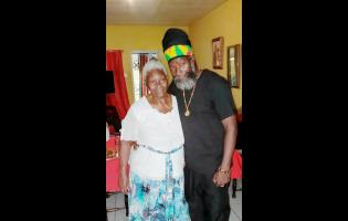 Capleton and his mother, Mabel Downer-Forbes.