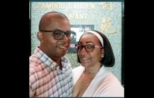 Danian Simpson and his wife Kerry-Ann
