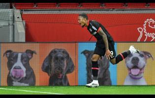 Leverkusen's Leon Bailey
