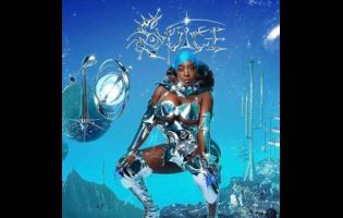 The album cover for Spice's highly anticipated project, 'TEN'.