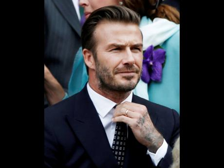 David Beckham Ben Curtis