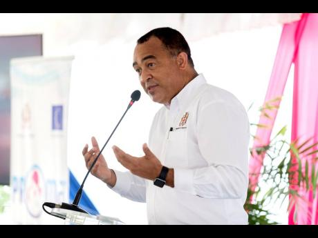 Minister of Health Dr Christopher Tufton.