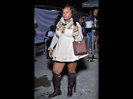 Toya went the extra mile, in booties and all.