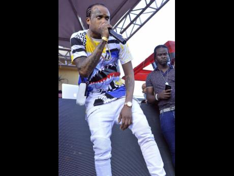 Tommy Lee Sparta in performance.