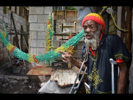 Gordon Town, St Andrew resident Sydney Clue is convinced that he would be making good money for his hammocks if he resided in a resort area.