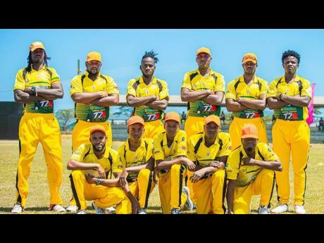 Orange Hill cricket team.