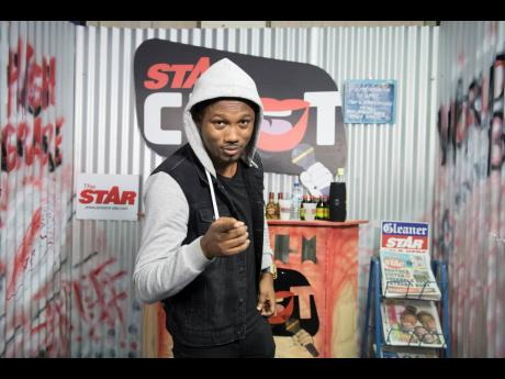 Gladstone Taylor/Multimedia Photo Editor Chozenn on the set of STAR CHAT.