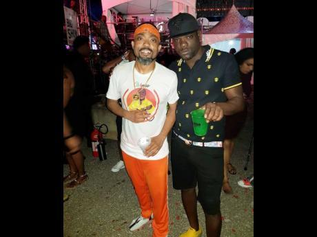 Trinidad Killa with Machel Montano.