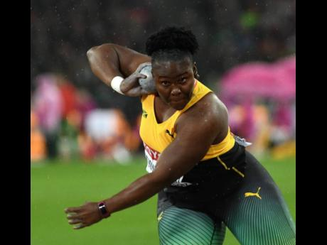 Danniel Thomas-Dodd in action at the IAAF World Championships London 2017.